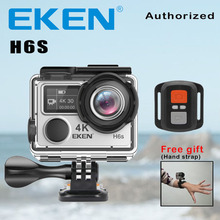 Action Camera Deportiva EKEN H6S (Oldname V8S) Ultra HD 4K WiFi Electronic Image Stabilization Go Waterproof Pro Sport DV Camera