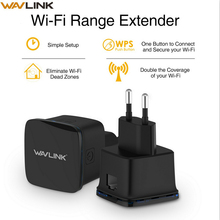Wavlink N300 Compact Size Mini Wifi Repeater 300Mbps Long Range wifi Extender Wireless Router Wi fi Repeater EU US Plug with WPS