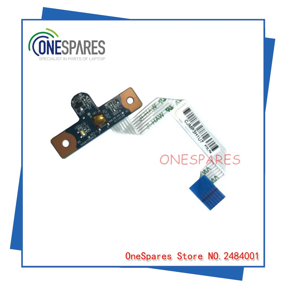 Free shipping Origina For HP For Pavilion G4 G6 G7 with Cable Button Series Power switch Board ON/OFF DAOR22PB6C0 original power switch button board with cable for dell m4010 n4030 n4050 n5030 n5020 free shipping