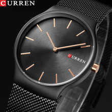 CURREN Brand Luxury Mens Quartz Watch Men Waterproof Ultra Thin Analog