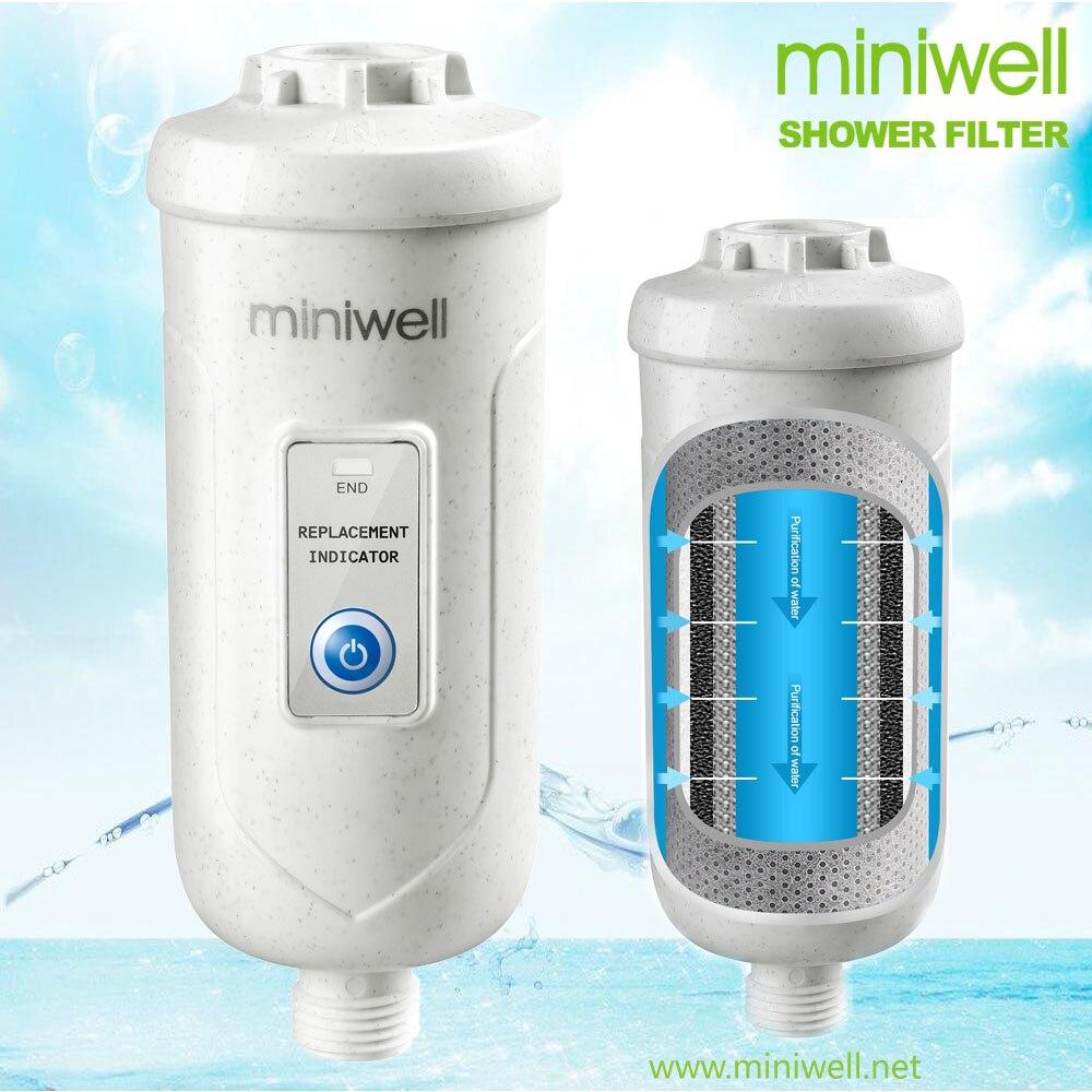 Brezplačna dostava Tuš filter za vodo L730 - Odstranite 99% klora, thms, težkih kovin, bele barve