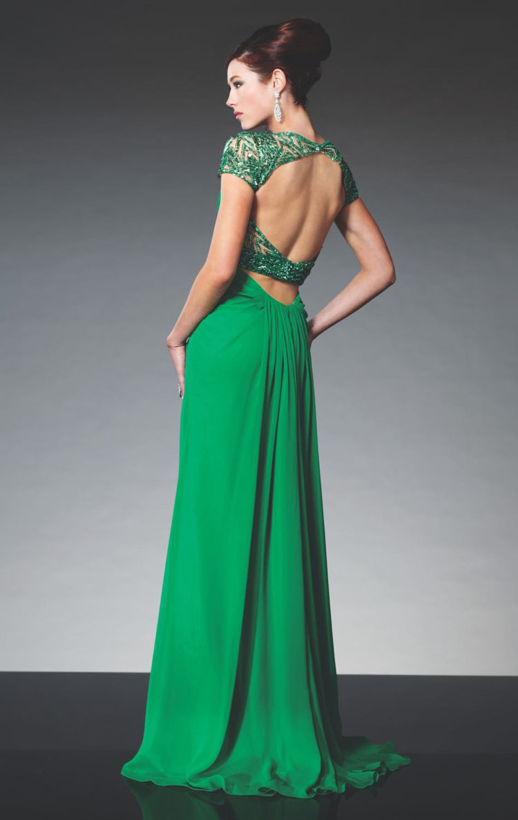 Fitted Backless Dresses