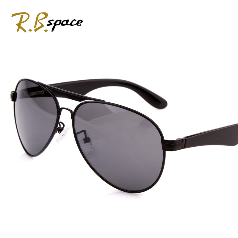 RBspace male fashion metal sunglasses large frame sunglasses large sunglasses Men oculos de sol masculino Sun glass