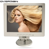 12inch/12.1 inch VGA Connector Monitor Song Machine Cash Register Square Screen Lcd Monitor/Display