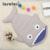 Mais novo 7 Cores Bonito Tubarão Forma Da Caixa Do Bebê Saco de Dormir Sleepsacks Bebê Winer Toldders Quente Cobertor Do Bebê Swaddle Algodão Quente