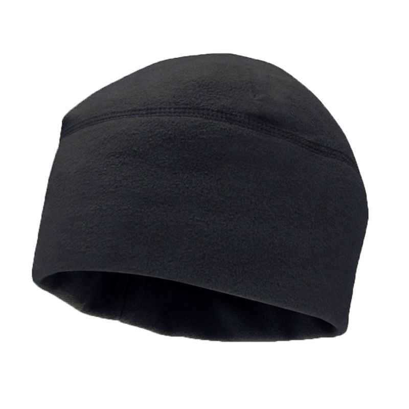 ad8114ff1d3 2018 Unisex Winter Solid Color Soft Warm Watch Cap Polar Fleece Thickened  Military Army Beanie Hat