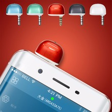 Evrensel 3.5mm Klima/TV/DVD/STB IR Uzaktan Kumanda iPhone Android Telefon Için kontrol TV, set üstü kutular, klima