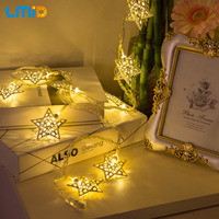 Holiday Lighting 5M 30LEDs Silver Metal Fairy String Light Christmas Wedding Home Decoration Twinkle Star Lighting