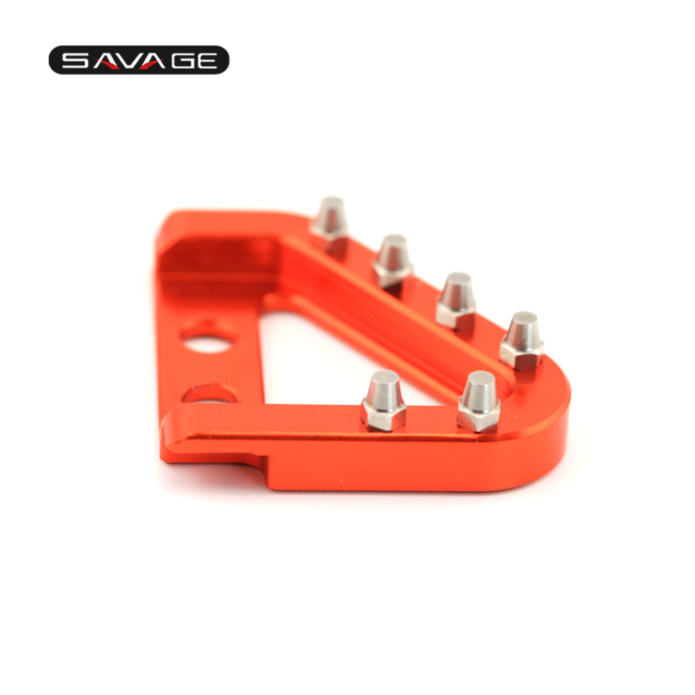 S Brake Pedal & Shifting Lever Toe Peg Step Plate (13)