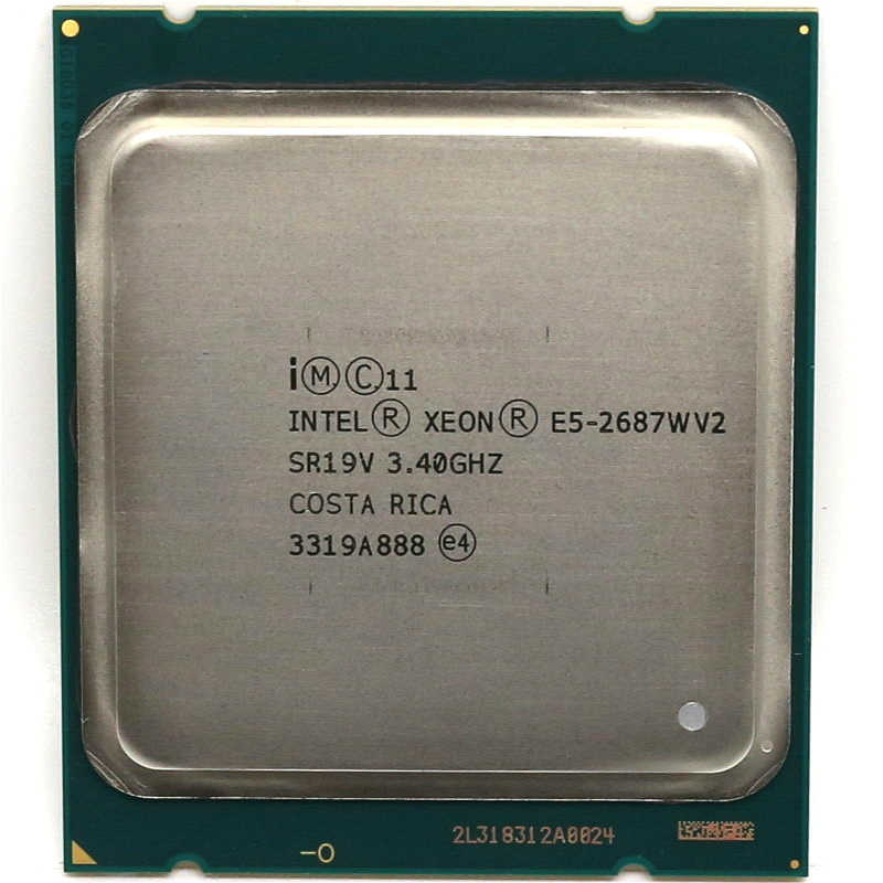 Intel Xeon E5 2687Wv2  SR19V 3.40GHz 8-Core 25MB LGA 2011 CPU E5 2687W v2 Processor