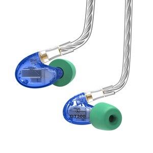 Image 3 - 2019 NICEHCK DT300 Pro 3BA lecteur dans loreille écouteur 3 Armature équilibrée détachable détacher MMCX câble HIFI moniteur sport écouteur