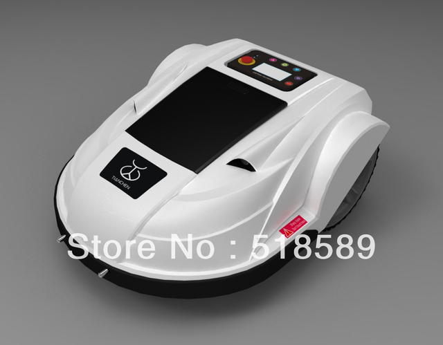Automatic Robot Lawn Mower with the function for setting moving schedule