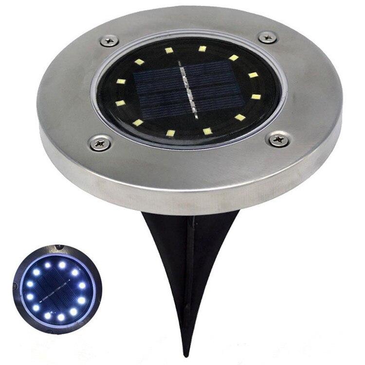 12 à prova d' água LED Solar