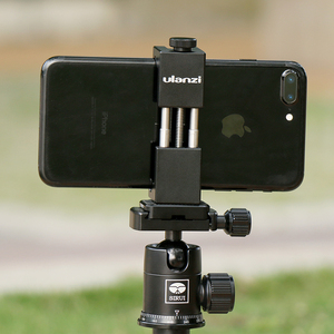 Image 5 - Ulanzi ST 02 tripé do telefone móvel montagem w sapato quente compatível aputure AL M9/boya BY MM1 microfone para youtube vlog vídeo maker