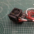 CR-10/Ender Volledige Gemonteerd Extruder x vervoer Kits Met metal Fan duct Cover hotend Kits voor CR-10 Serie 3D printer Onderdelen