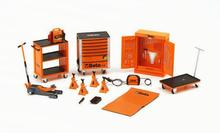 1:43 repair kit repair room scene scenes repair tools dedicated repair parts Cars