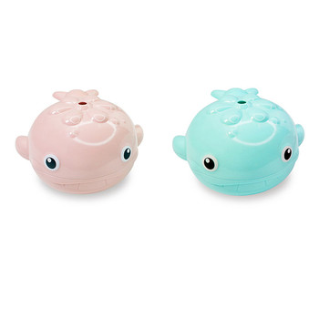Baby Bathing Toy Kids Whale Shape Water Spray Bathroom Shower Swimming Water Toys Whale Shape Shower Swimming Baby Bathing New water thermometer baby bathing frog shape temperature infants toddler shower shower waterthermometer kids product baby bath