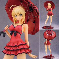Alphamax Fate/Extra CCC Saber one piece ver. 1/7 Scale PVC Figure Collectible Model Toy 25cm KT1848