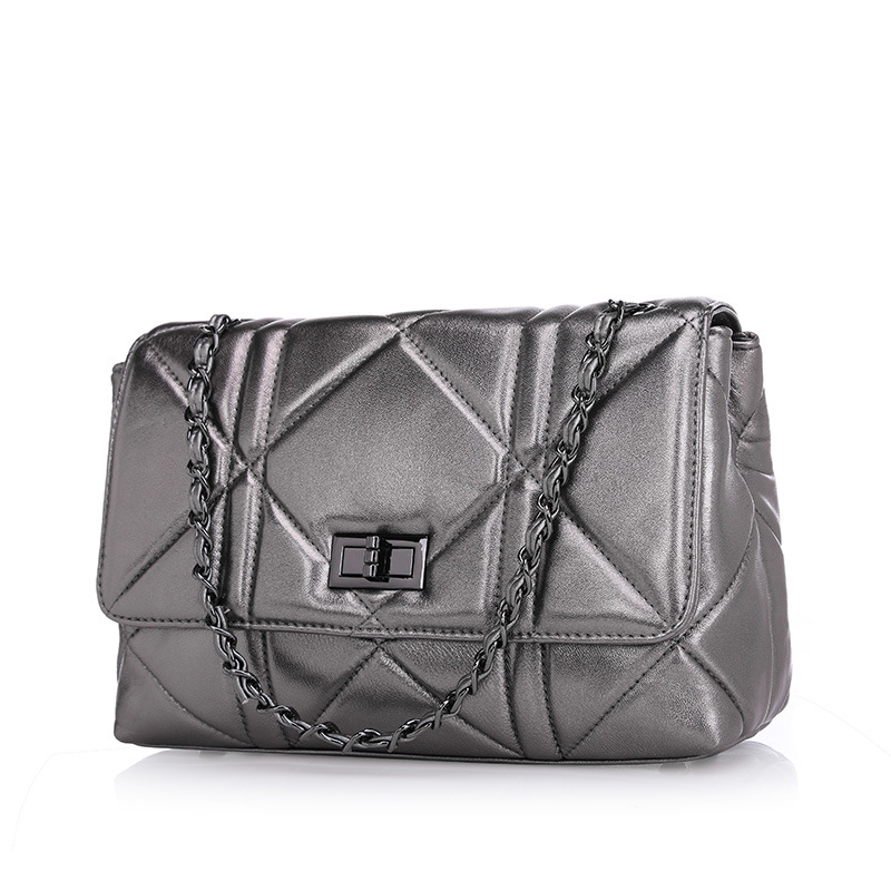 brand fashion women genuine leather shoulder bag chain female luxury handbags women high quality messenger bags designer 2017 women bag qiwang 2016 new genuine leather bag serpentine fashion chain luxury women bag quality women handbags shoulder bag