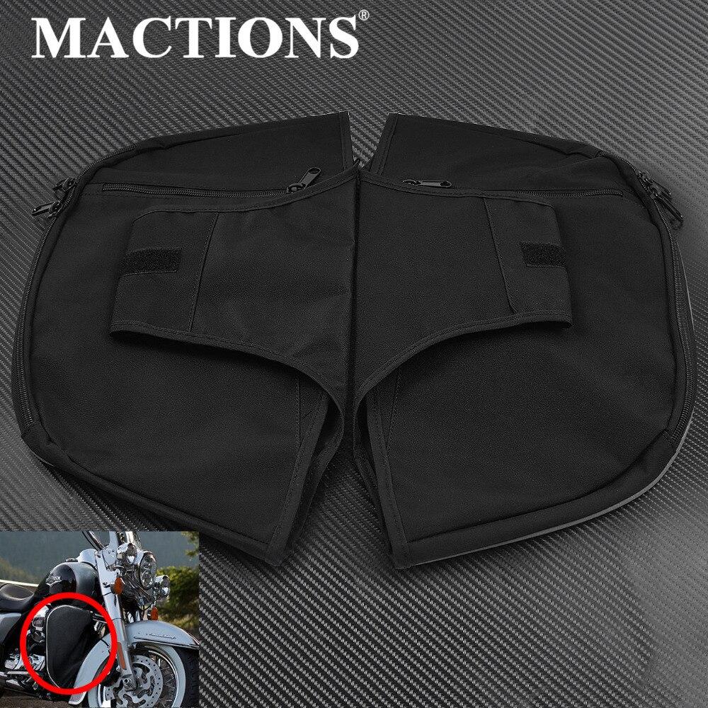 Motocicleta Preto Leg Warmer Caps Macio Reduz Para Harley Touring Electra Glide Standard Street Glide Road King FLHR 1980- 2018