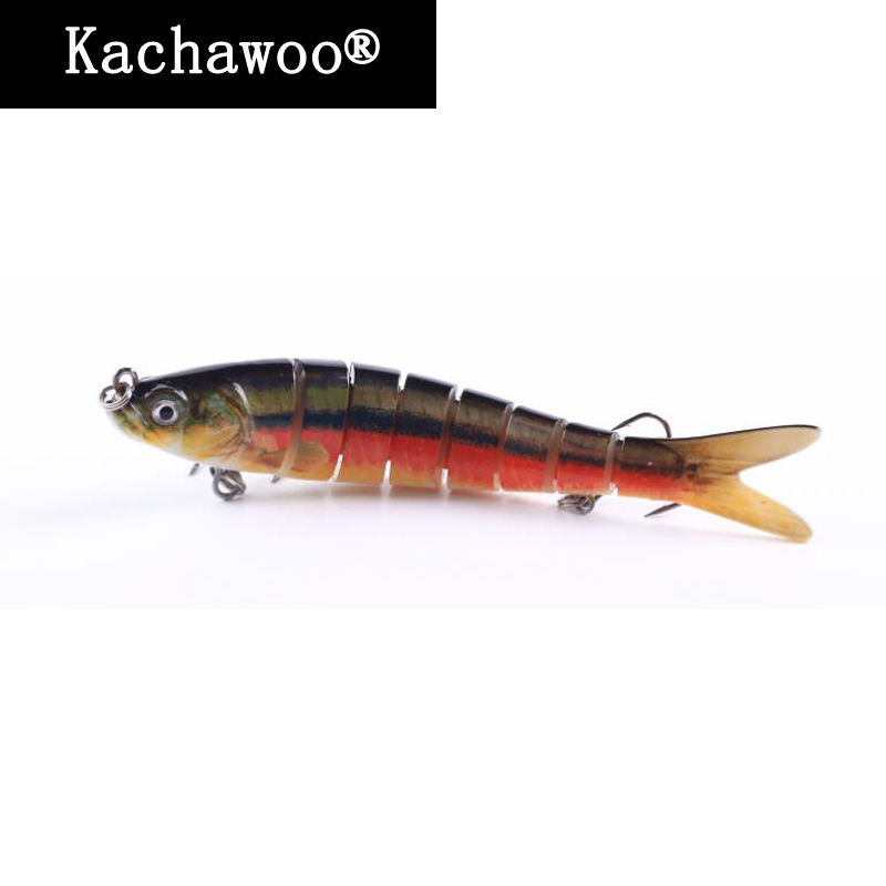 Jointed Minnow Fishing Lures Sinking Wobblers with Dove Tail Lifelike 8 Sections Swim Bait Isca Artificial Fish 5.5 Inch 30g 4pcs fishing lure minnow wobblers hard bait with hook artificial lures for pike sinking peche tackle wobbler sea 13cm fish set