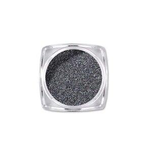 Image 5 - Urodzony królowa wyróżnij czarny proszek do paznokci dający lustrzany efekt błyszczy lśniące pigmenty do paznokci chrom pyłu Manicure zdobienie paznokci dekoracje