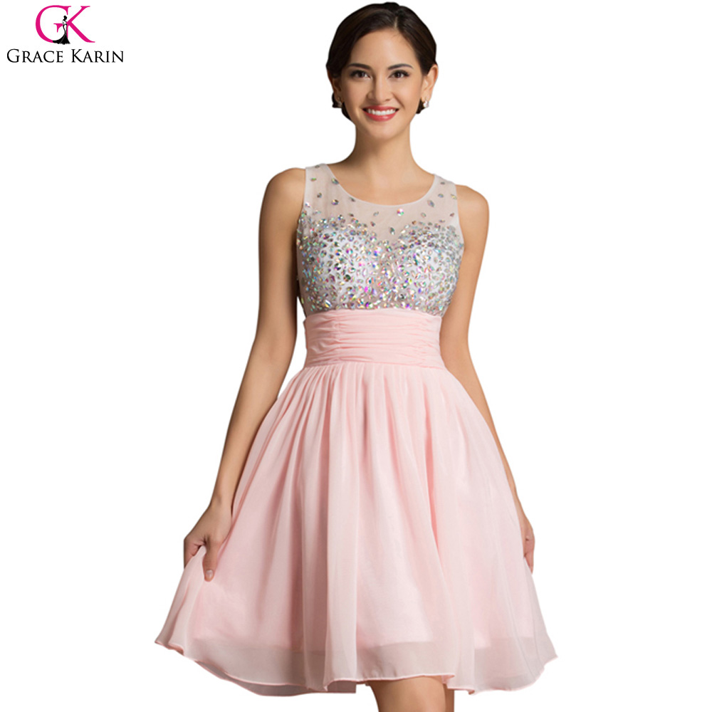 short prom dresses robe de soiree courte grace karin. Black Bedroom Furniture Sets. Home Design Ideas