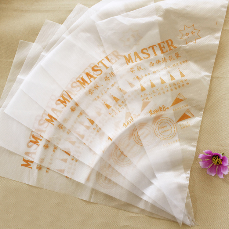 Large Disposable Cake Decorating Bags : 100pcs Large(35x23cm) Cake Decorating Icing Pastry ...