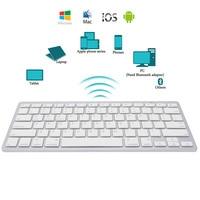 Новый Краткое ультра-тонкий Беспроводной Bluetooth клавиатура для iPad Air 2 iPad мини 1 \ 2 \ 3 \ 4 Galaxy вкладки Microsoft