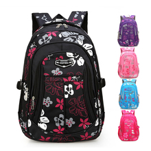 New School Bags for Girls Fashion Women Backpack Small Flower Sweet Shoulder Bag Kids Backpacks Primary 5color