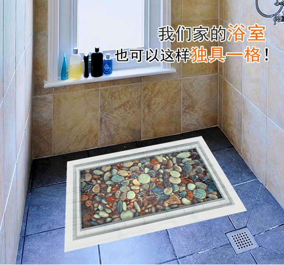 3d Boden Aufkleber Badezimmer