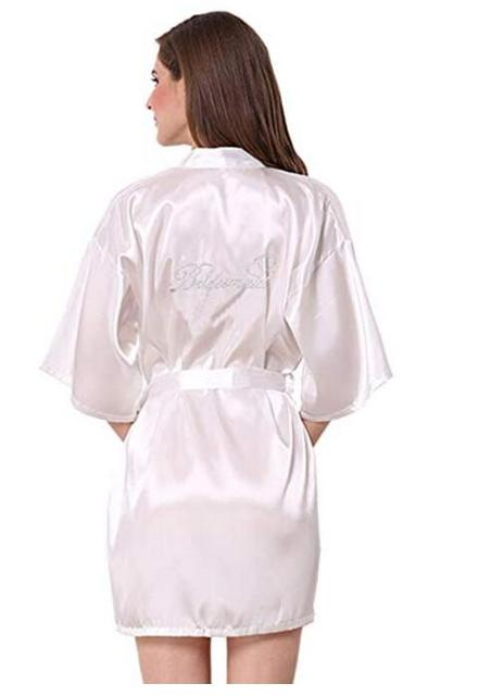 f6dbfb5ed9 personalized robes mother of the bride mother of groom Bridal Party Robes  maid of honor Wedding Day gift satin robe