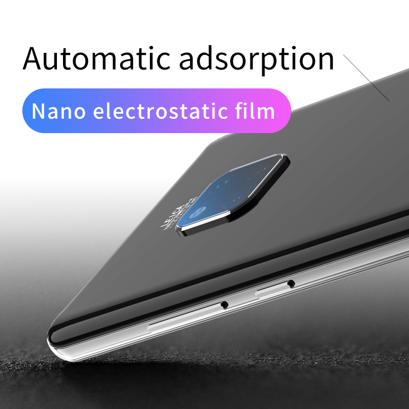20 2 Pce Transparent  Glass for Huawei Mate 20 Pro Protective Glass Back Camera Lens Tempered Camera Glass for mate 20 Mate X (2)