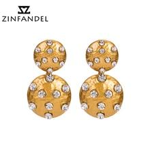 hot deal buy zinfandel brand european 6 color posimi second of alloy paints point drill trendy earrings cute fashion jewelry for beauty women