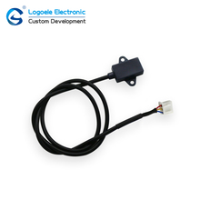 Interruptor do sensor de Proximidade Capacitância LOGOELE praça alarme controle de Não-contato de nível de líquido nível de água sensor
