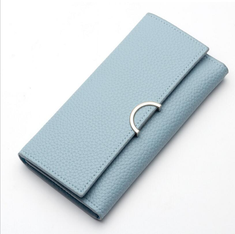 Ms wallet long purse vogue of new fund of contracted female hand bag wallet