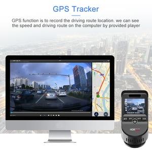 Image 5 - Junsun S590P 4K Dash Cam WiFi Voiture Dvr GPS Tracker ADAS Super HD 2880 * 2160P Vision Nocturne Dashcam 1080P Enregistreur Arrière de Caméra