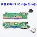 Zopo ZP998 Original USB placa de carga tomada de microfone com vibrador motor para ZOPO 9520 Smartphone frete grátis