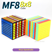 Moyu 8x8x8 Magic Speed Cube 8Layers Puzzle 8x8 Black Stickerless Neo Cubo Magico 8*8*8 Game Education Toys For Children