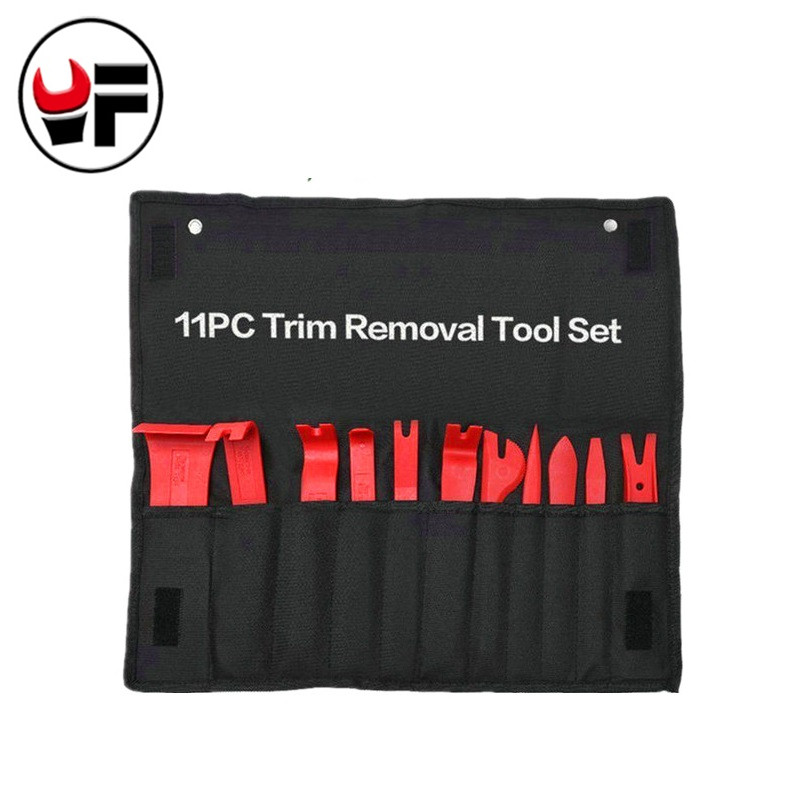 YOFE 11pcs Professional Vehicle Car Door Dash Trim Tool Panel Molding Clip Retainer Removal Pry Tool Set Car Auto Tools Kit