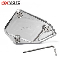 CNC Aluminum Motorcycle Kickstand Side Stand Enlarge For BMW R1200GS ADV R 1200GS R 1200 GS