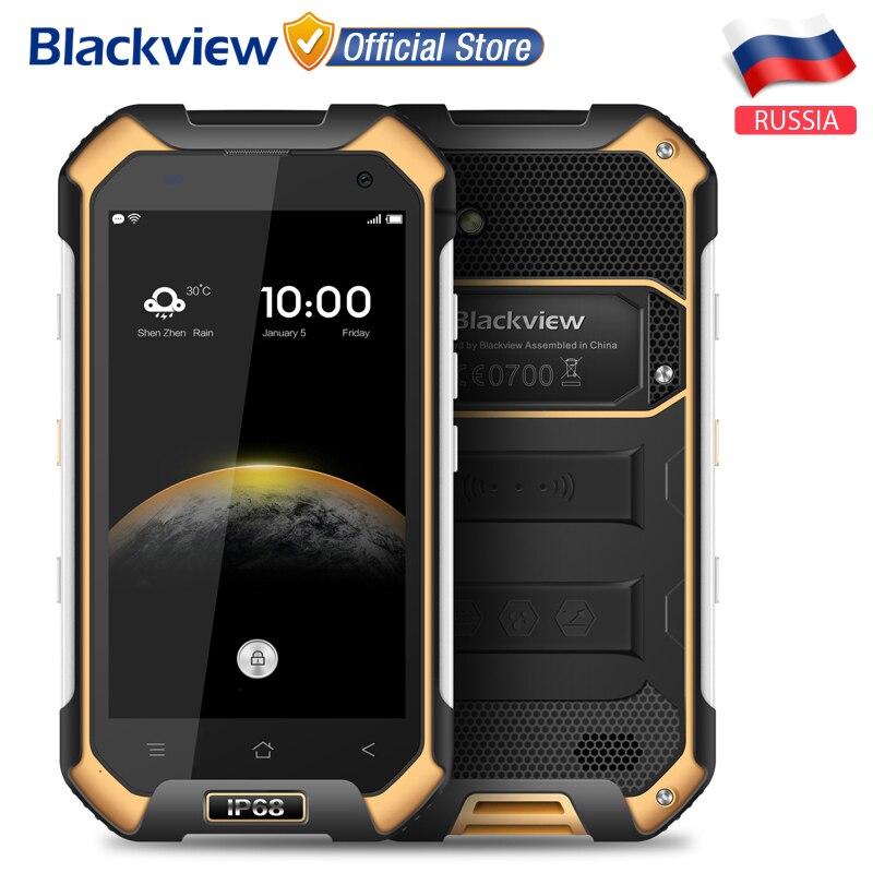 Цена за Blackview BV6000S 4 Г Мобильный телефон 4.7 дюймов 1280x720 HD MT6737T Quad Core Android 6.0 2 ГБ + 16 ГБ 8MP Водонепроницаемый IP68 Смартфон