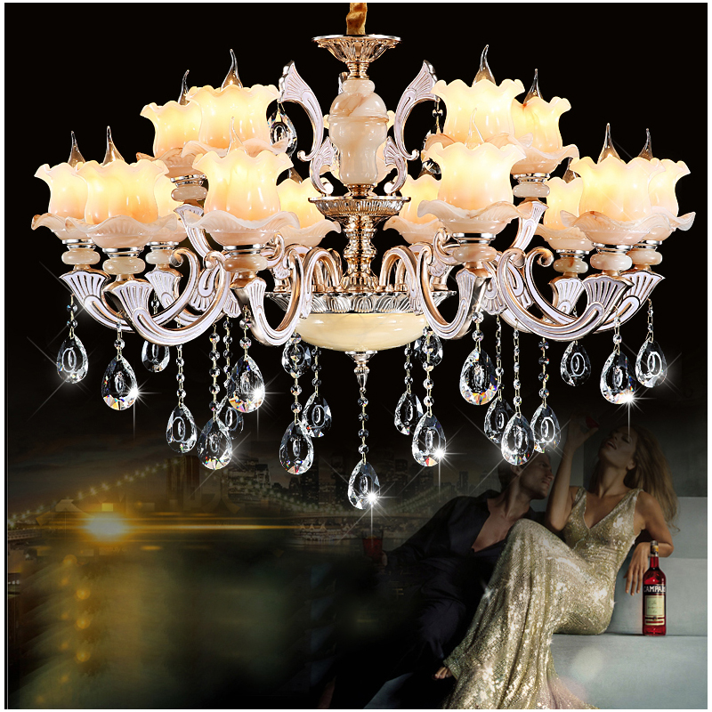 Traditional crystal chandelier lights Luxury crystal light chandelier for Living room Art deco Large chandeliers with LED bubls modern crystal chandelier light for dining room e14 crystal chandeliers living room round lights curtain lights wpl091