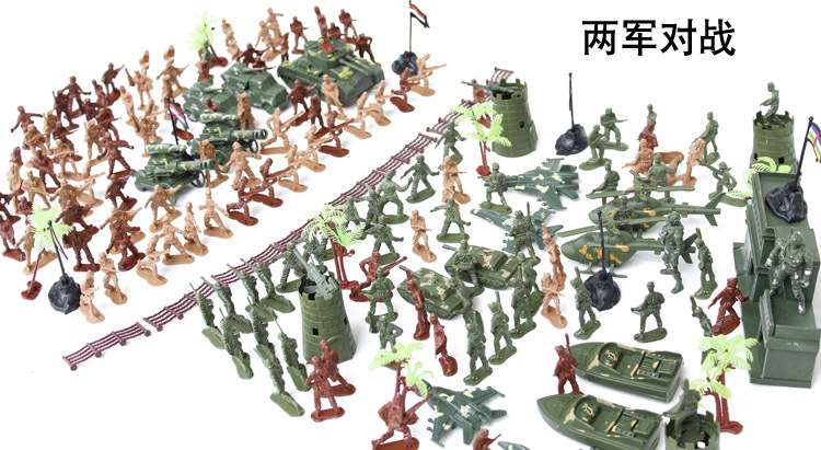 ФОТО 240pcs troops military plastic Army soldiers man model army model soldier toy soldier military base toys  Valentine's gift