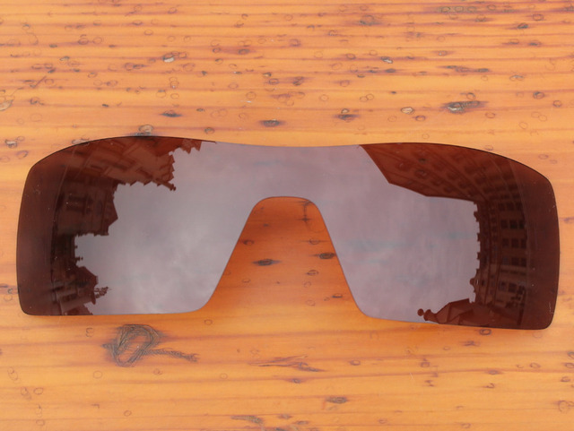 Copper Brown Polarized Replacement Lenses For Oil Rig Sunglasses Frame 100% UVA & UVB Protection