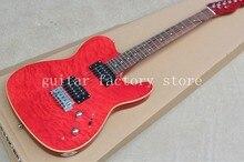 Пользовательские TL Гитары ra/красный цвет/oem электрогитара/Гитары в Китае, бесплатная доставка
