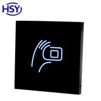 Çift Frekans RFID Okuyucu 125 Khz Proximity EM Kart ve 13.56 Mhz IC MF Keyfob Okuyucular WG26 çıkış Kullanımı erişim Kontrolü için
