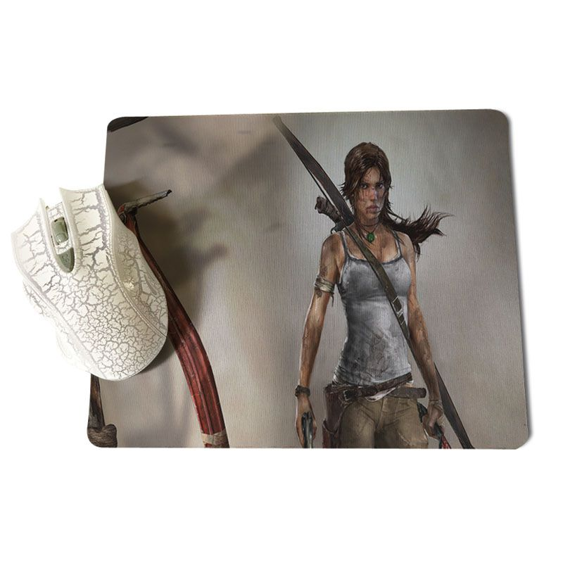 MaiYaCa Tomb Raider 2012 High Speed New Mousepad Size for 25X29cm Gaming Mousepads