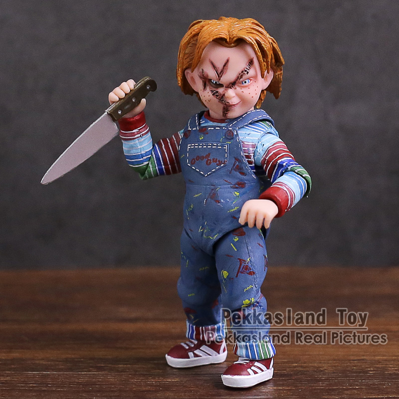 NECA Child's Play Good Guys Chucky PVC Action Figure Collectible Model Toy elsadou neca chucky action figurs child s play doll with retail box 15cm