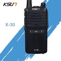 מכשיר הקשר שני הדרך KSUN X-30 כף יד מכשיר הקשר 8W צריכת חשמל גבוהה UHF כף יד שני הדרך Ham Radio Communicator HF משדר חובב Handy (1)